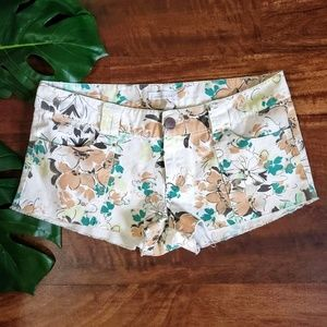 O'Neill Floral Denim Shorts